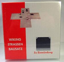 Wiking 119904 Strassen-Bausatz Einmündung (5 Stück)