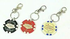 $100 $5 & $1 CASINO CHIPS Key Chain Ring Welcome To Fabulous LAS VEGAS NEVADA