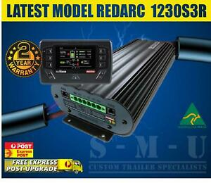 REDARC MANAGER 30 BMS REDVISION SCREEN 4X4 BATTERY CHARGER SOLAR ANDERSON