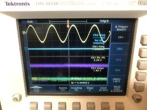 GOOD TEKTRONIX TDS3054 500MHz 4 CH DPO OSCILLOSCOPE W UPGRADES