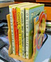 cofanetto legno LIBRICCINI BELLI MARZOCCO 1939 con 5 libri - tutto originale