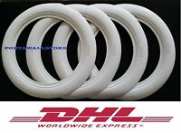 "14''X3"" Wide Whitewall Portawall Tyre insert trim Set of 4pcs Free Shipping DHL."