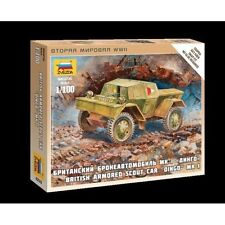 6229 BRITISH ARMORED CAR DAIMLER - 1/100 - ZVEZDA - WW2