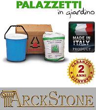 ARCKSTONE Kit Montaggio Pittura Collante Vernice Barbecue Palazzetti in Giardino