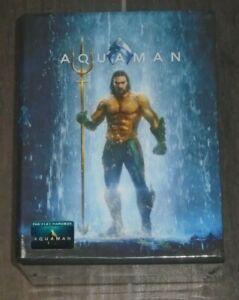 Aquaman (blu-ray) Steelbook - Filmarena Hard Box. NEW & Sealed