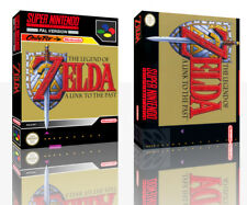 Legend of Zelda Link To The Past SNES Replacement Game Case Box + Cover(No Game)