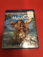 MOANA Blu Ray DVD Combo Disney Animated Movie FREE SHIPPING US Version NEW!!!