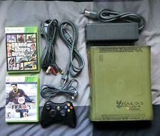 Halo 3 Limited Edition Xbox 360 Console With 1 Controller, 2 Games.