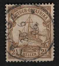 OPC 1906 German East Africa #22 UNwmk Tanga Son Cancel