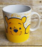 Disney Store Winnie the Pooh and Piglet Large Coffee Mug Collectable Mug