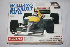 Kyosho 1/10 Scale Williams Renault FW14 Formula One Radio Controlled Car Kit