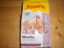 1x Josera Minette 400g Trockenfutter Kitten