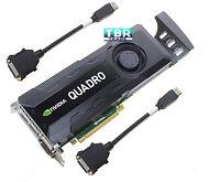 HP nVidia Quadro K5000 4Gb GDDR5 C2J95AA GPU Graphics Video Card 701980-001