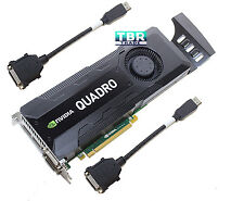 HP nVidia Quadro K5000 4Gb GDDR5 C2J95AA GPU Graphics Video Card 701980-001