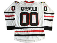 Movie Clark Griswold #00 Hockey Jerseys Stitched Custom Names Christmas Gifts