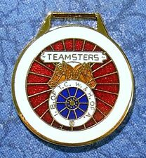 Teamsters Union Logo Watch Fob
