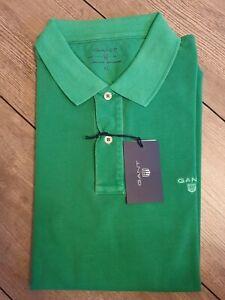 GANT Sunbleached Poloshirt Gr.XL Pique Rugger Jelly green Klassiker 242100 / 313