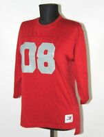 Tommy Hilfiger Athletics womens red shirt #08 Size M