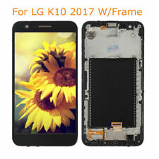 New DISPLAY TOUCH SCREEN PER LG K10 2017 M250 M250N LCD VETRO NERO OPTIMUS