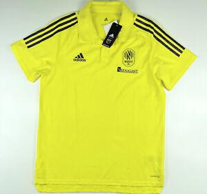 Adidas Nashville SC Renasant Official Team Polo Shirt FS9786 Size Large $50