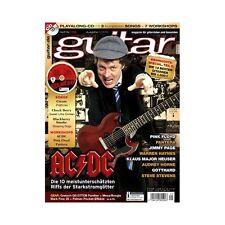 Guitar Ausgabe 01 2015 - Magazin für Gitarristen und Bassisten + Playalong-CD