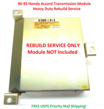 90-93 Honda Accord Transmission Control Module AT TCU TCM Rebuild Service ONLY
