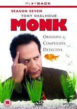 MONK - Series 7 (2010) Complete 7th Seventh Season - Box Set New UK Region 2 DVD