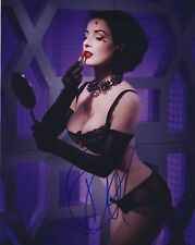 [A0472] Dita Von Teese Signed 10x8 Photo AFTAL