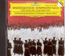 Shostakovich: Sinfonia N.11 / Neeme Jarvi, Gothenburg Symphony Orchestra - CD