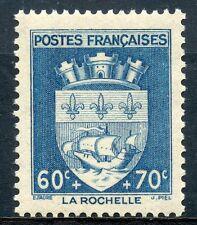 STAMP / TIMBRE FRANCE NEUF N° 554 ** BLASON / LA ROCHELLE