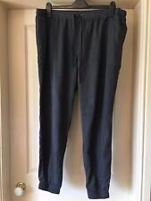 BNWT Dorothy Perkins Plus Size 22 Curves Grey Tapered Summer Trousers Pants