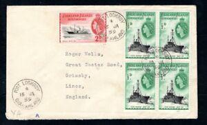Falkland Island Dependencies - 1959 Cover Port Lockroy, Grahamland
