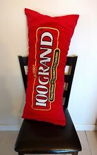 100 Grand Pillow Plush Bed Room Body Long Giant Huge Chocolate