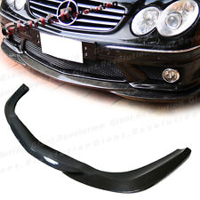 GH Type Carbon Fiber Front Bumper Add-On Lip For 07-09 BENZ W209 CLK63AMG Model