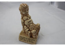 """Funny 5"""" Wooden Statue You Can Do Anything A Man of 21 Can Do Only Not as Often"""