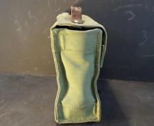 Laptop Bag Vintage Leather and Canvas Handbag Briefcase Messenger Bag Men