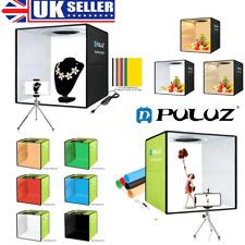 25/40cm Photo Studio Light Box Folding Dimmable Photography Shooting Tent Kit UK