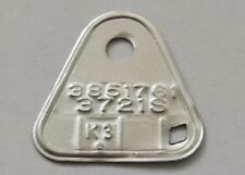 1962 3310S UNDATED D2 E2 F2 G2 DATED CARTER AFB TAGS CORVETTE CHEVY 327-300HP