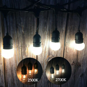 11m Waterproof Festoon String Lights Bulb Kits Christmas Party Decor Lighting UK