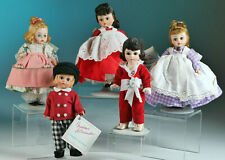 Madame Alexander dolls Meg, Mary Mary, Jo, Tommy Snooks, Red Boy 8""
