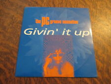 cd THE PC GROOVE SENSATION givin' it up
