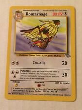 Roucarnage Pidgeot FRENCH Rare 24/64 Pokemon Card Nintendo  LP