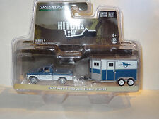 GREENLIGHT S9 HITCH & TOW 1972 FORD F-100 AND HORSE TRAILER NEW TOOLING