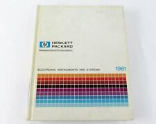 HP Measurement & Computation Catalog 1981 Electronic Instruments & Systems
