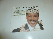 "THE SYSTEM - Coming to America - 1976 German 2-track 7"" Juke Box Vinyl single"