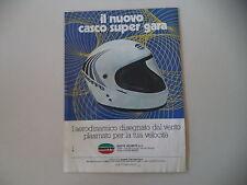advertising Pubblicità 1978 CASCO HELMET BIEFFE SUPER GARA