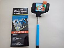 WOW New Wireless Mobile Monopod Extendable Selfie Stick Rod Bluetooth US Seller