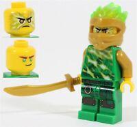 NEW LEGO NINJAGO GOLDEN NINJA FS LLOYD MINIFIGURE 70681 SPINJITZU SLAM - GENUINE