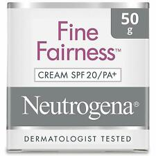 Neutrogena Fine Fairness Cream For All Skin Types SPF 20 PA+ 50 Gm