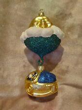 "1999 Patricia Breen #9932 Santa's Underwater Sleigh Christmas Ornament 7"""